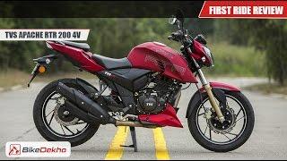 getlinkyoutube.com-2016 TVS Apache RTR 200 | First Ride | BikeDekho.com