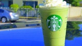 getlinkyoutube.com-How to Make Starbucks Green Tea Frappuccino สตาร์บัค กรีนที แฟรบปูชิโน่