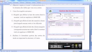 getlinkyoutube.com-Synthèse 1 : Base Access 2010, Tables, Relations, Requêtes, Formulaires, Macros