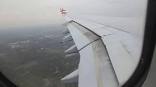 getlinkyoutube.com-VIRGIN ATLANTIC AIRBUS 340-600 LANDING AT JFK, NY