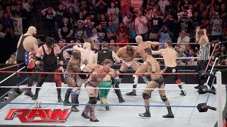 WWE Raw 10/16/17 Golden Truth Mark Henry vs Shining Stars Titus ONeil width=