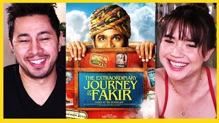 THE EXTRAORDINARY JOURNEY OF THE FAKIR | Dhanush | Teaser Trailer Reaction!