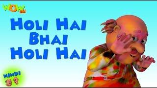 getlinkyoutube.com-Holi Hai Bhai Holi Hai - Motu Patlu in Hindi