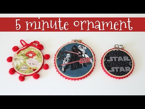 Fast and Easy Star Wars Ornament - 5 minutes!
