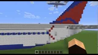 getlinkyoutube.com-Minecraft Airport: Part 2- Airbus A330-300