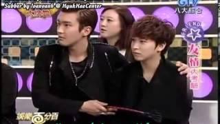 getlinkyoutube.com-[Vietsub]130305 Chương trình giải trí 100 % - HyukHae làm aegyo ~ EunHae part 2 cut