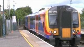 Class 450 at Alton