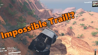 Spin Tires | HARDEST ROCK CRAWLING TRAIL!? | NEW Moab Map Exploring, Part 2