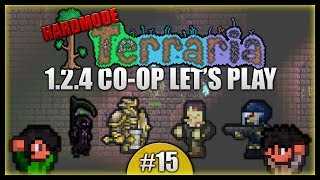 Solar Eclipse Embarassment! Dungeon Farming! || Terraria Co-Op Survival [Episode 15]