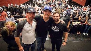 getlinkyoutube.com-Scream Screening Q&A with Matthew Lillard & Skeet Ulrich!