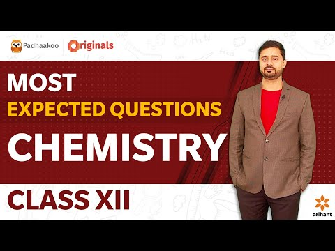 Most Expected Questions   Chemistry Class XII   CBSE 2020