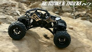 Basher RockSta 1/24 Mini Rock Crawler - Outdoor Running