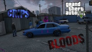 getlinkyoutube.com-GTA 5 Crips & Bloods Part 11 [HD]