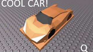 getlinkyoutube.com-how to build a car on roblox COOL CAR same