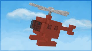 getlinkyoutube.com-Minecraft: O HELICÓPTERO HORROROSO! (BUILD BATTLE)