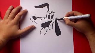 getlinkyoutube.com-Como dibujar a Pluto paso a paso | How to draw Pluto