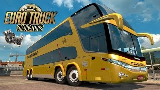 getlinkyoutube.com-Euro Truck Simulator 2 - EAA Bus - Itapemirim e Paradiso G7 1800 + G27