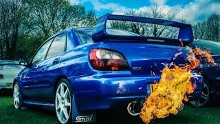 getlinkyoutube.com-Subaru Impreza WRX STi sound. Blow off brutal exhaust sound.