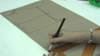 Lesson 2-16  MEDIUM Back Bodice Part 2 - PATTERN MAKING OF A BASIC DRESS WITH WAISTLINE
