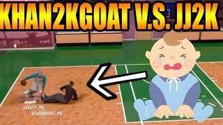 getlinkyoutube.com-NBA 2K16 | JJ2K V.S. KHAN2KGOAT(EXPOSED)