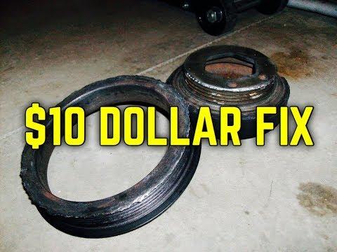Fix a broken Crankshaft Pulley Harmonic Balancer Repair | Honda Acura | Toyota Lexus | Bundys Garage