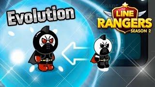 getlinkyoutube.com-[LINE Rangers] สอนวิธี Evolve จาก Mask Moon เป็น Black Moon