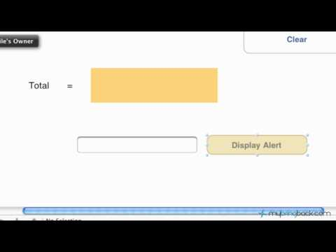 Learn iOS iPad+iPhone Apps 8- Basic Alert View with Options