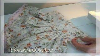 getlinkyoutube.com-Artesanato Como fazer VESTIDO de BONECA de PANO - DIY Handmade ropa muñeca