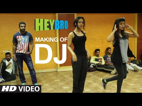 Making of DJ Video Song from Hey Bro