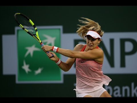 2016 BNP Paribas Open Second Round | Genie Bouchard vs Sloane Stephens | WTA Highlights