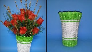 getlinkyoutube.com-How to make flower vase
