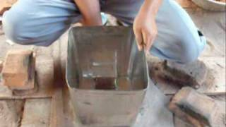 getlinkyoutube.com-Rocket Stove construction instruction Lao
