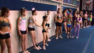 getlinkyoutube.com-Cheer Extreme Tryouts Cheerleading & Gymnastics COMBINED! CHEER IS A SPORT! (Video by JTV)