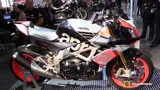getlinkyoutube.com-2015 Aprilia Tuono V4 1100 Factory - Walkaround - Debut at 2014 EICMA Milan Motorcycle Exhibition