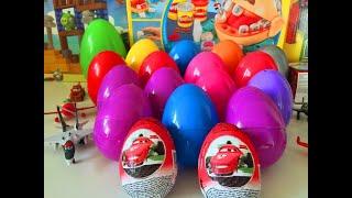 getlinkyoutube.com-20 Киндер Сюрприз на русском языке Kinder Тачки Киндер Сюрприз Тачки Kinder surprise Cars