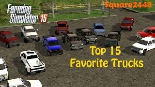 getlinkyoutube.com-FS15: Top 15 Favorite Trucks
