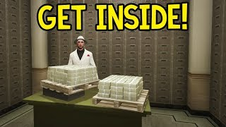 How to: Get Inside the Bank Vault! (GTA 5 Online Glitch Guide)