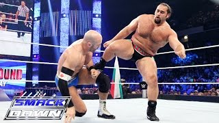 getlinkyoutube.com-Cesaro vs. Rusev: SmackDown, July 16, 2015