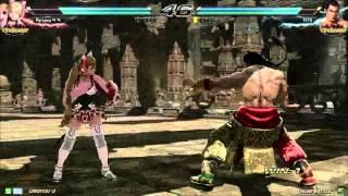 getlinkyoutube.com-Tekken7 lucky chloe(persona) vs feng(TK_Ys) korea onilne battle