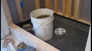 getlinkyoutube.com-How to install a shower pre slope