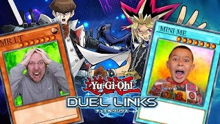 getlinkyoutube.com-MR LT VS MINI ME ON YU-GI-OH THE GAME   Yu-Gi-Oh Duel Links Gameplay PART 3