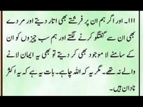 Quran Sharif with urdu translation Para 8 Part 1 of 7.wmv