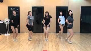 getlinkyoutube.com-[HD] EXID - I Feel Good Mirrored Dance Practice