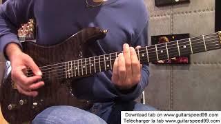 Cours de guitare - Sharp Dressed Man (ZZ TOP)