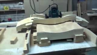 getlinkyoutube.com-Обучение изготовлению  гнутых фасадов ( ЧПУ своими руками)