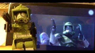 getlinkyoutube.com-Save The Clone Wars Custom Lego Commander Tribute!!!
