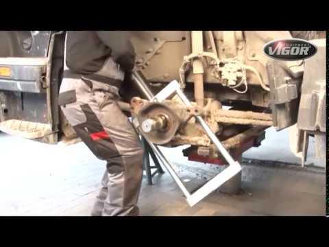 Выпрессовщик шкворня, 32 тонны, V4565, Vigor