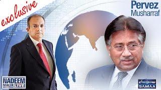 getlinkyoutube.com-Pervez Musharraf Exclusive | Nadeem Malik Live | SAMAA TV NEWS | 12 Oct 2016