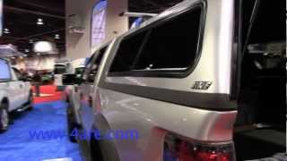getlinkyoutube.com-2012 SEMA Show - A.R.E. Truck Caps and Tonneau Covers Booth Tour
