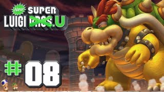 getlinkyoutube.com-New Super Luigi U - World 8 - Peach's Castle 100% (2 Players)